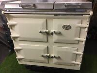 Stunning Everhot 100 Range cooker Oven Cream and chrome ever hot appliance