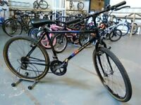 ADULTS/OLDER CHILDS TOWNSEND TOPEKA BIKE 26 INCH WHEELS 12 SPEED BLACK GOOD CONDITION