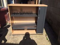 Office Tambour Cupboard (7 available)