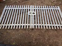 set of yard gates (galvanized)