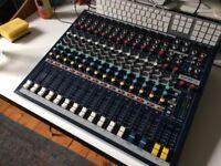 soundcraft epm12 mixer / mixing desk - very good condition