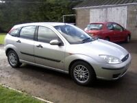 AUTOMATIC FORD FOCUS 1-6 LX 5-DOOR 2003. 96,000 MILES, 1 PREVIOUS OWNER, NOVEMBER 16th 2017 MOT.