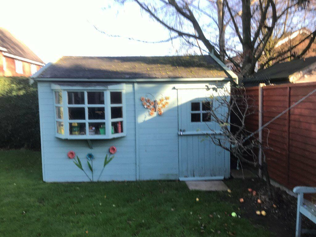 garden shed 3m x 4m good condition - Garden Sheds Oldham