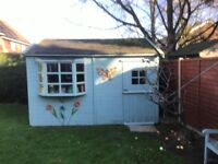 garden shed 3m x 4m good condition - Garden Sheds 3m X 4m