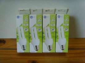 4 New 11W Energy Saving Light Bulbs - Can DELIVER or POST