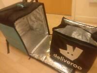 Deliveroo Backpack + Jacket + Small termal Bag