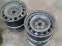 """4 steel wheels 16"""" 5x112"""