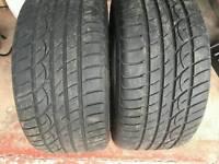 2 new tyres 255/35/18