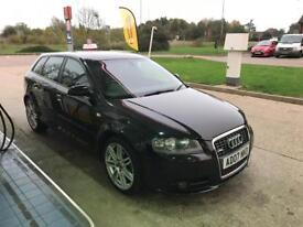Audi A3 S Line 1.8 turbo automatic 2007 limited edition