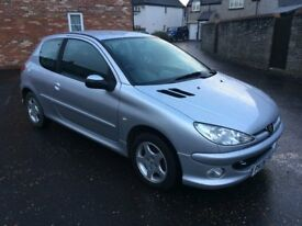 2006 PEUGEOT 206 1.4 VERVE, ONLY TWO OWNERS, LOW MILES, SERVICE HISTORY, LONG MOT.