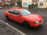 2000*NISSAN PRIMERA 1.8 PETROL*ONLY 77000 MILES*CHEAP FAMILY CAR