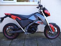 BMW G650 X-Moto, V.Rare only one for sale in UK, Excellent condition FSH, Super-moto