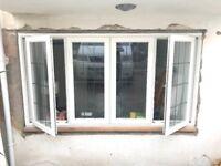 Double glazed timber casement window - 2420 x 1340mm - Georgian lead