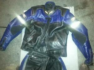 Screamin Eagle Motorcycle Racing Track Suit Jacket 2 piece