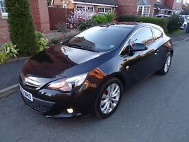 Vauxhall Astra GTC 2.0 Diesel Automatic Half Leather 2013 Low Miles 39k FSH