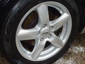 Alloy Wheels - Set of Four