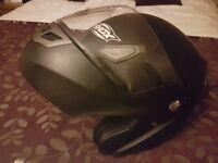 Shox motorbike helmet