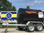 Fuel Proof Mobiele brandstoftank trailer