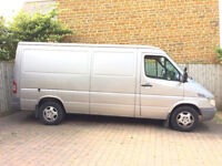 Friendly Man with Mercedes van collection and delivery service