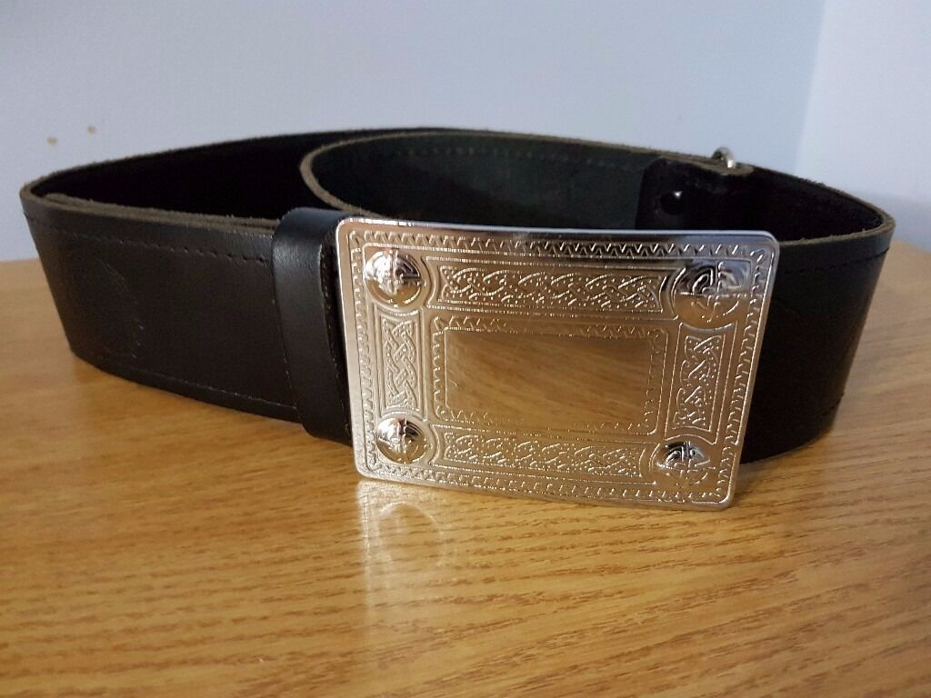Highland Kilt Waist Belt Scottish