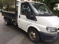 Ford Transit Tipper 2004 for spares or repair