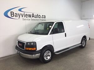 2015 GMC SAVANA G2500- 4.8L! A/C! STABILITRAK! CRUISE! LOW KM'S!