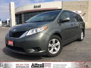 2013 Toyota Sienna FWD LE. Keyless Entry, Power Doors, Backup Ca