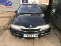 2003 Renault Laguna 2.0 Petrol SPARES OR REPAIRS