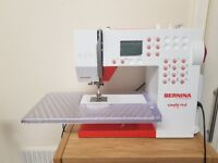 Bernina simply red sewing machine 215. Excellent working order please see description