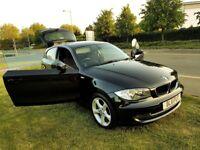 BMW 116D SPORT 3DR – 2.0 DIESEL ENGINE – 2011 – BLACK COLOUR.