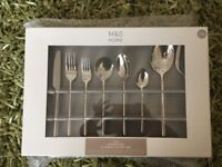 M&S 44 piece manhattan set