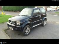 Jimny 2001 black 58,000 miles!!!!!! 4x4 price negotiable! With off road mods