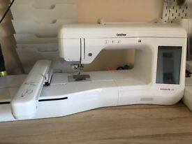 BROTHER INNOVIS V3 Embroidery Machine.Added extras including upgrade kit worth£300 & Brother printer
