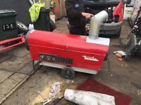 Diesel heater blower