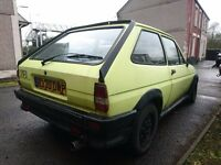 1984 Breg FIESTA XR2 WITH 1.8 ENGINE SWAP???