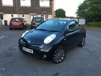 Nissan Micra convertable 1.6 petrol low mileage