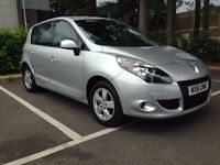 Renault Scenic 1.5 Diesel DCI Dynamique 5dr Full Dealership Service History and One Year MOT