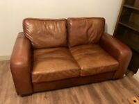 Two (2) Seater Leather Sofa