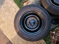 Ford transit banded steel wheels
