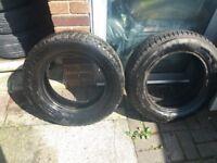 2 Tyres 195/65/15