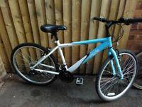 Ladies hybrid bike,