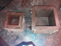 11 Test cubes - Cube Moulds - Concrete test cubes - Moulds