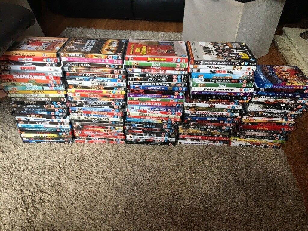 Used Dvds For Sale >> 120 Used Dvds For Sale In Leicester Leicestershire Gumtree