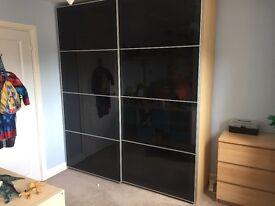 Pax wardrobe sliding doors from ikea