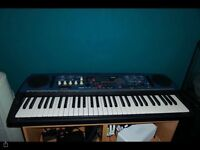Yamaha DJX dance keyboard