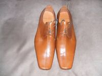 OFFICE SHOES, TAN SIZE 11 (NEW)