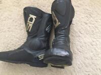 Motorbike Sidi boots 8.5 size