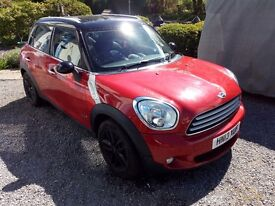 Mini Countryman Cooper D ALL4 2013 (13) Blazing Red, Full Black Leather, 37k miles with FMSH