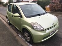 DAIHATSU SIRION 1.3 S 05 55 PLATE MOT AUGUST 2018 ONE OWNER FROM NEW