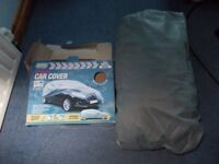 Maypole car cover, small for cars up to 13ft, unused